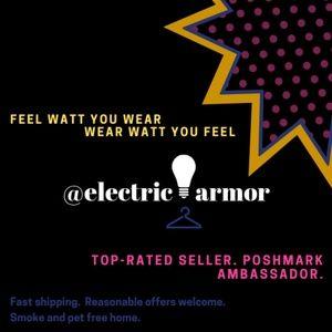 Meet your Posher, electricarmor